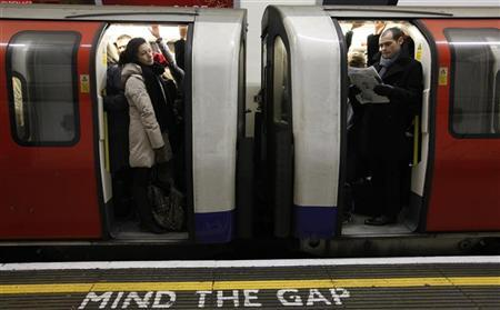 London commuters fear strain on the trains