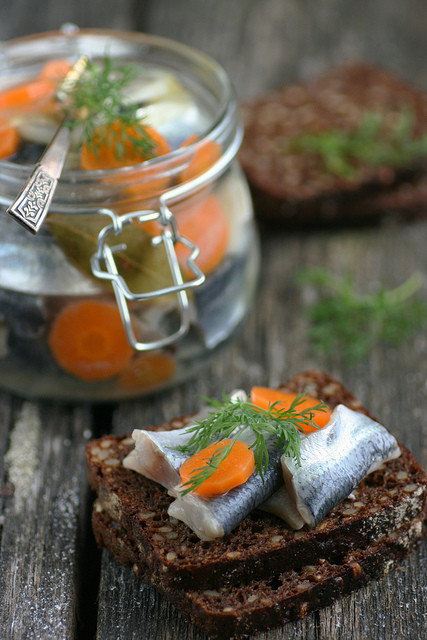 Pickled Baltic Herring