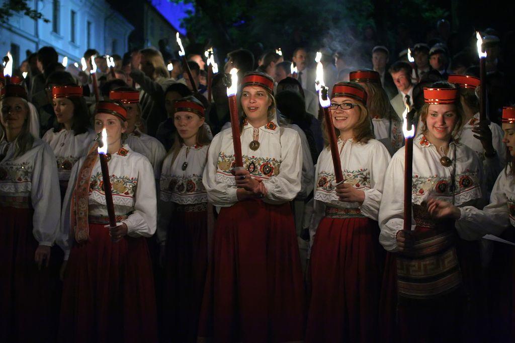 Estonian song and dance festival - photo by Anton Klink