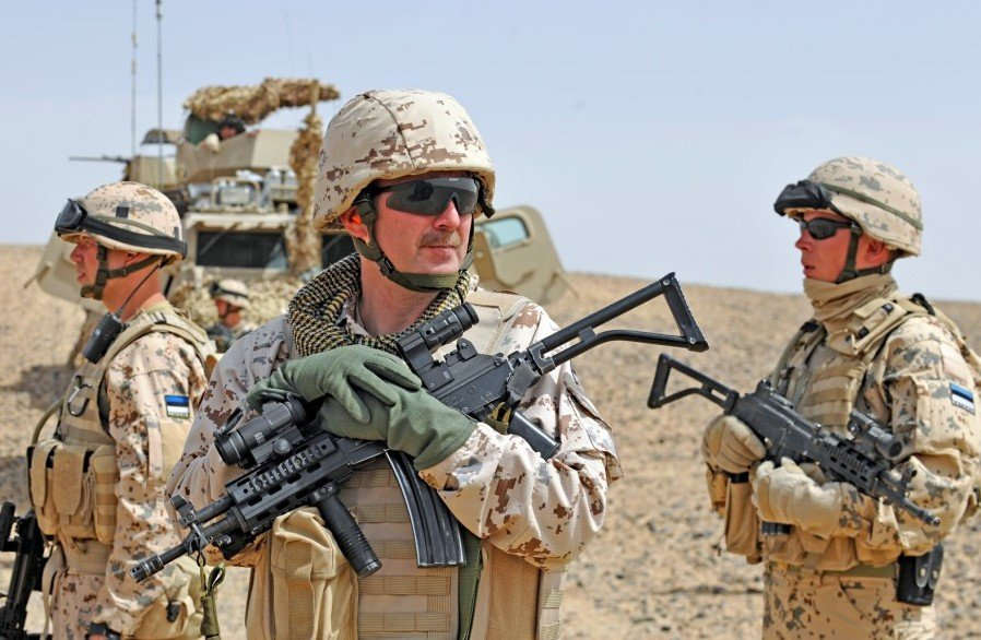 Estonian soldiers in Afghanistan
