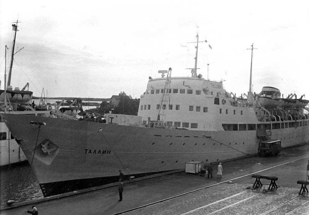Helsinki-Tallinn passenger ship