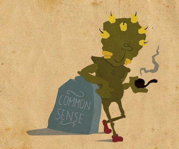 common sense peko