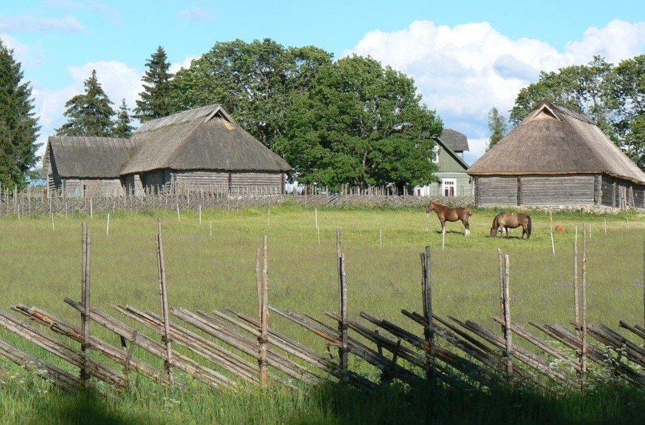 Tammsaare farm house in Estonia