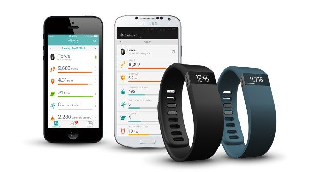 Fitbit wireless-enabled activity trackers.