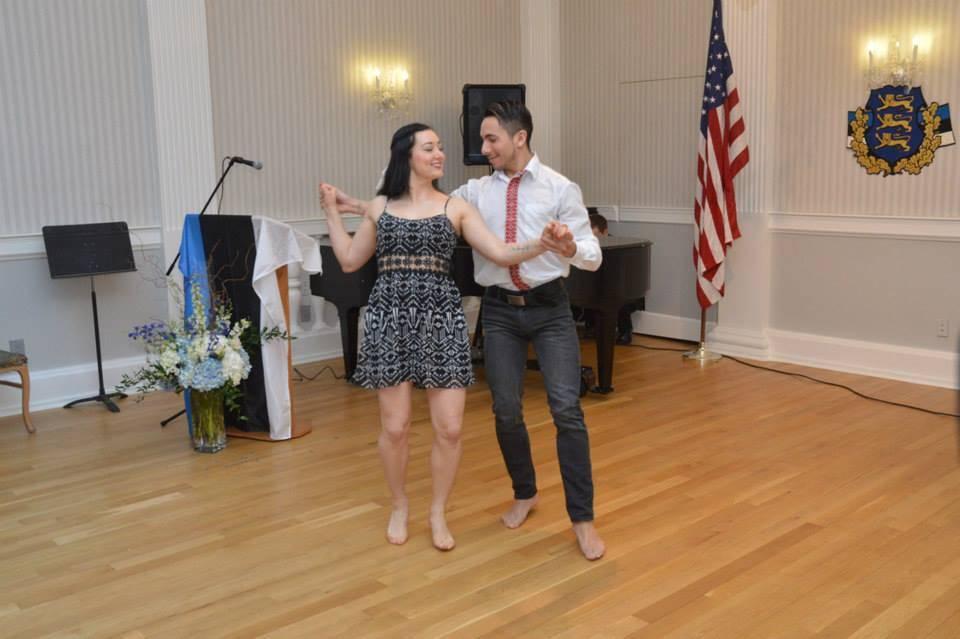 Diina Tamm dancing at NY EH IX
