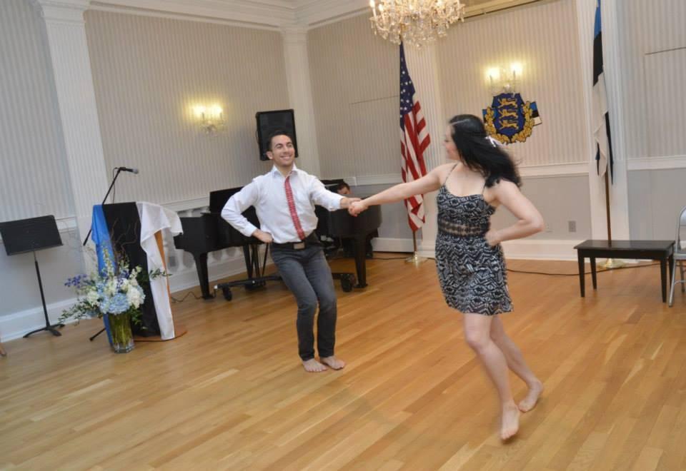 Diina Tamm dancing at NY EH X