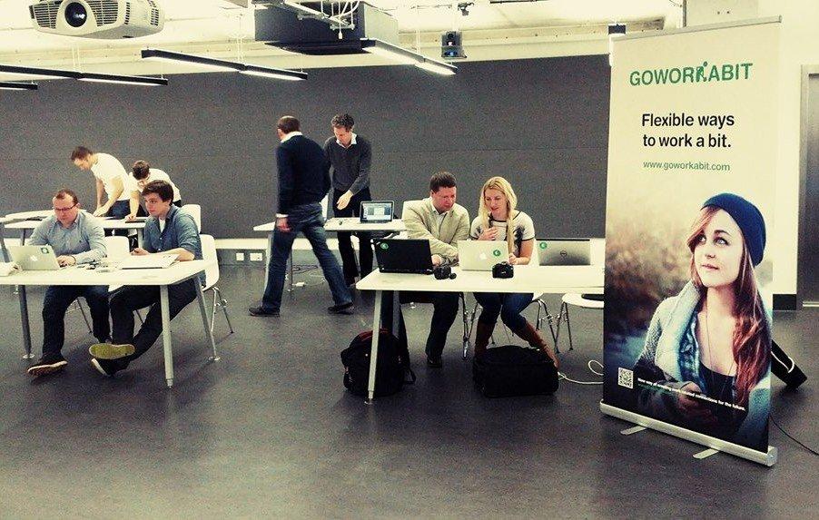 Olle Kaidro, Margus Pala, Gerli Veermäe, Kei Karlson at Seedcamp 2014