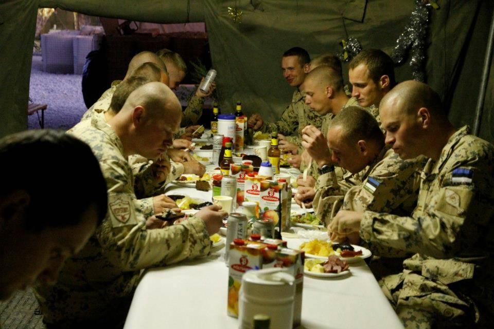 Christmas Day dinner 2012