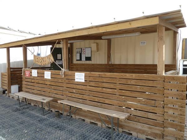 Estonian sauna in Helmand