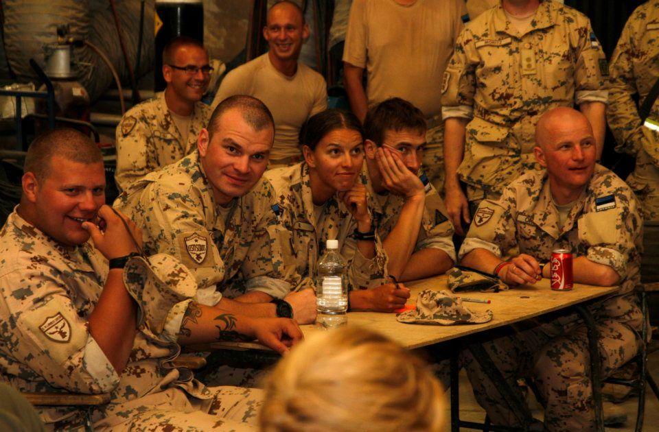 Estonian soldiers in Afghanistan