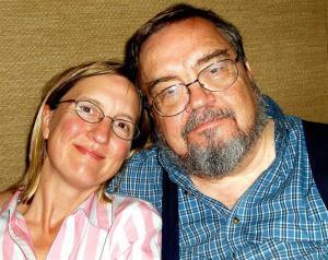 Lisa Trei with Alan Trei
