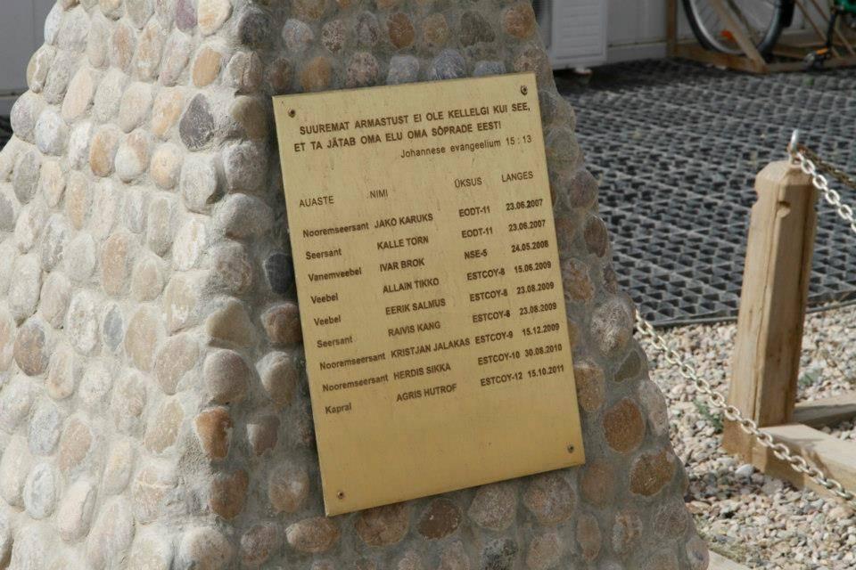 Remembering the fallen comrades