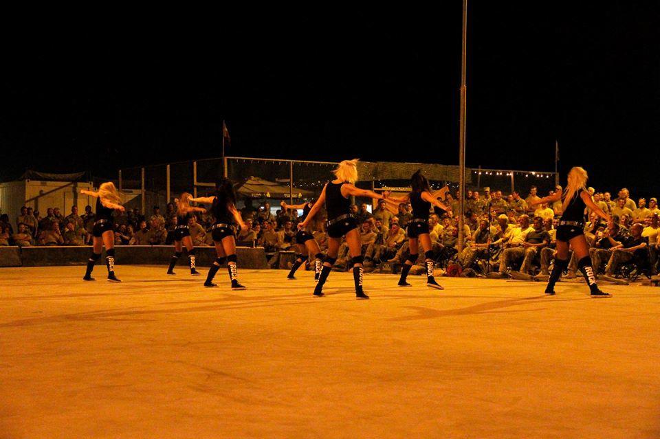 Rock dance group - photo by captain Arvo Jõesalu II