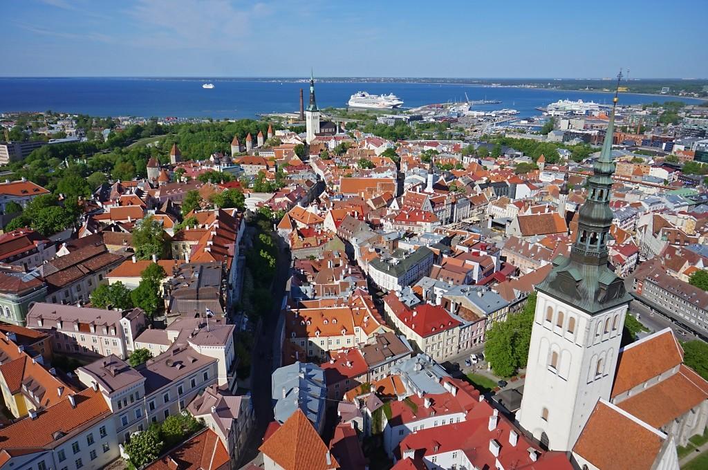 Tallinn panorama by Markko Lepik