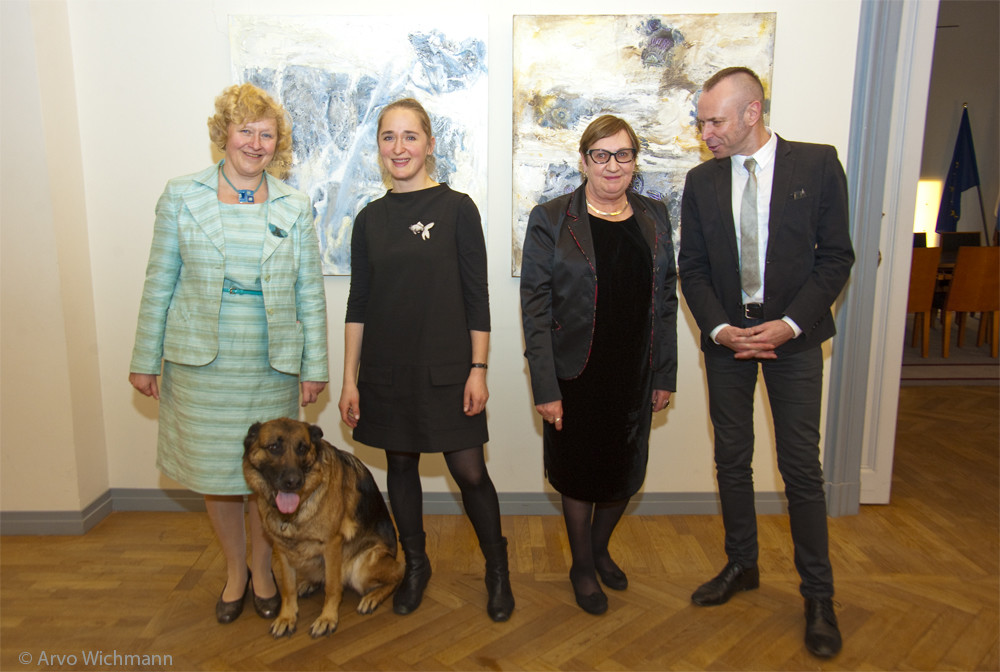 Traces art exhibition in Berlin
