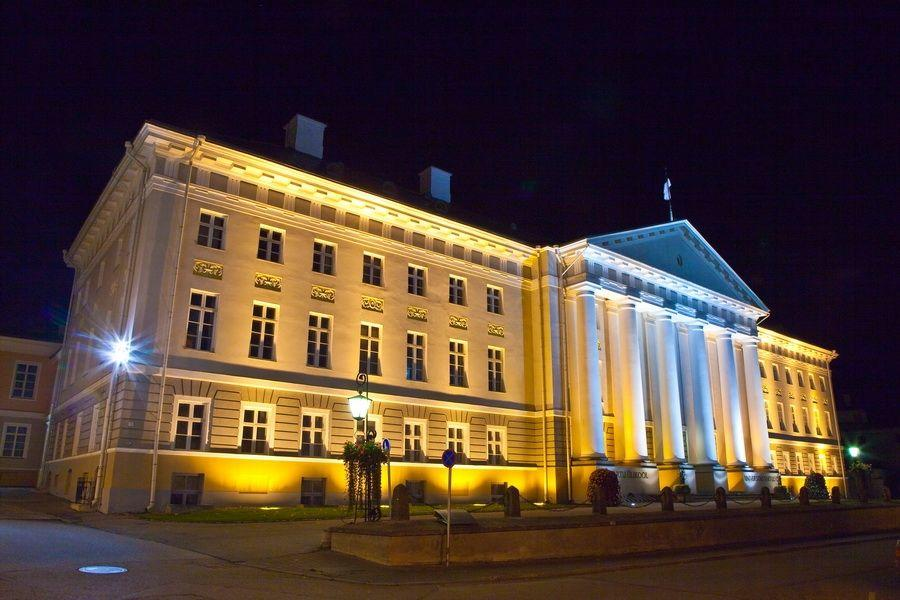 University of Tartu main building by Tiit Mõtus
