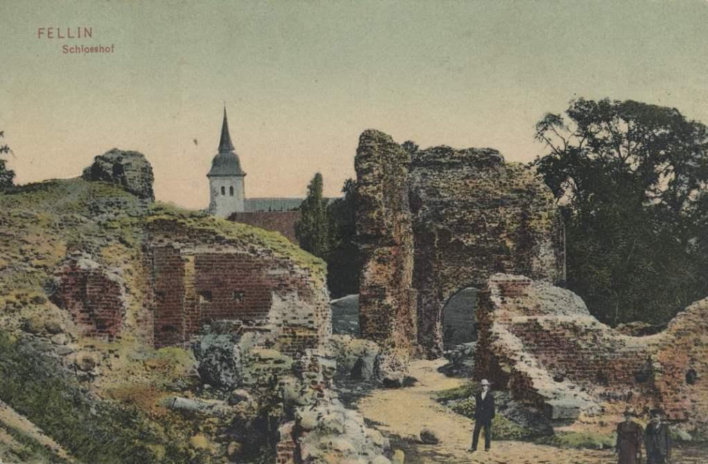 Viljandi castle 1910