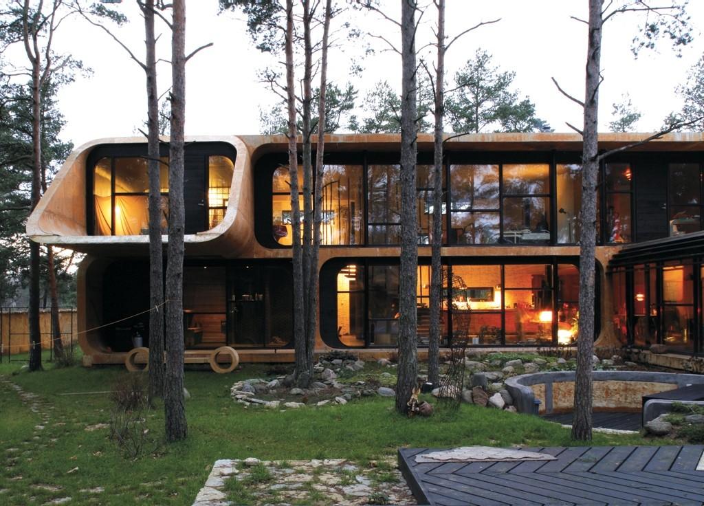 Villa U. Front Architects (Indrek Unt, Gerts Sarv, Lauri Laisaar). Photo by Ilmar Saabas
