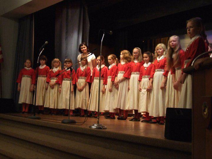 Children's Choir Lakewood Estonian House
