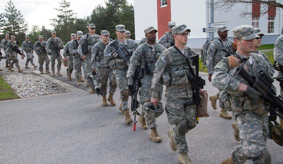 American soldiers in Steadfast Javelin