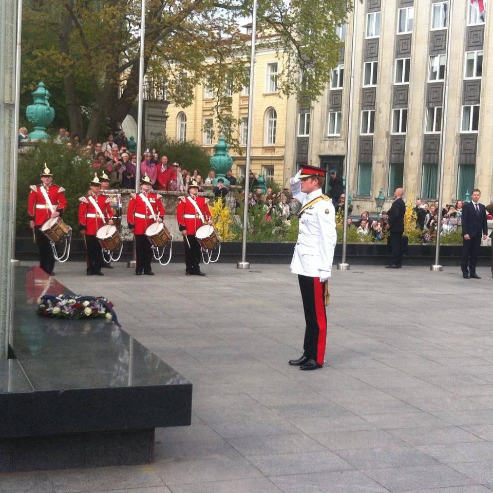 Prince Harry in Estonia