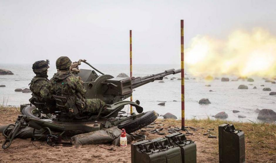 Steadfast Javelin in Estonia