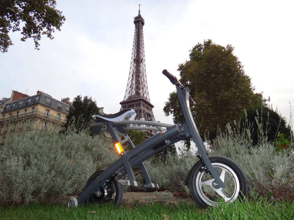 Stigo bike in Paris