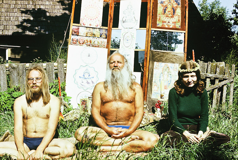 Mihkel Ram Tamm in the middle