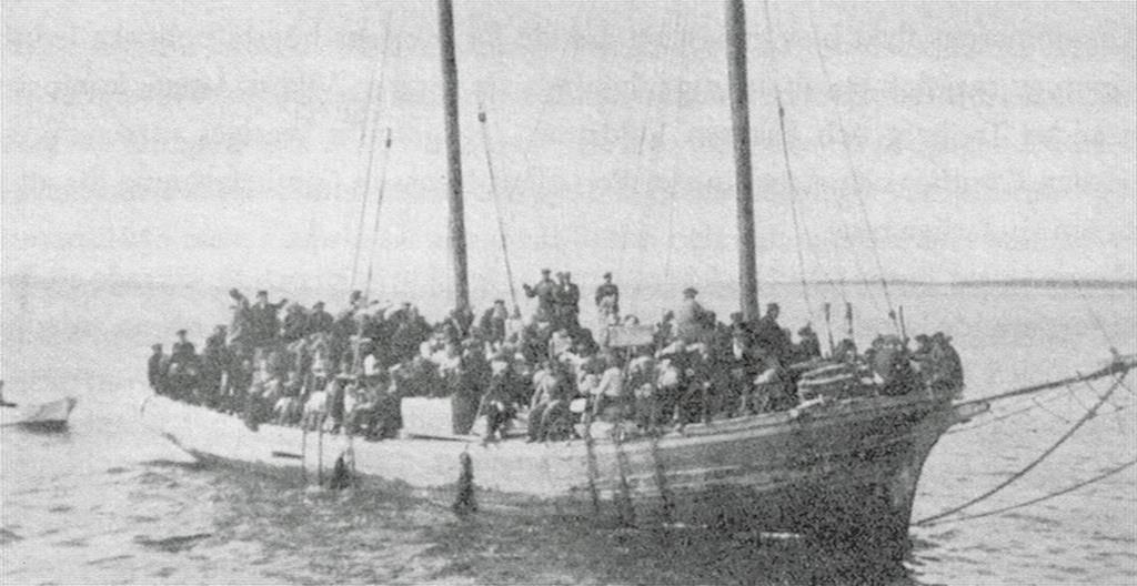 Estonia's Swedes fleeing to Sweden in 1944