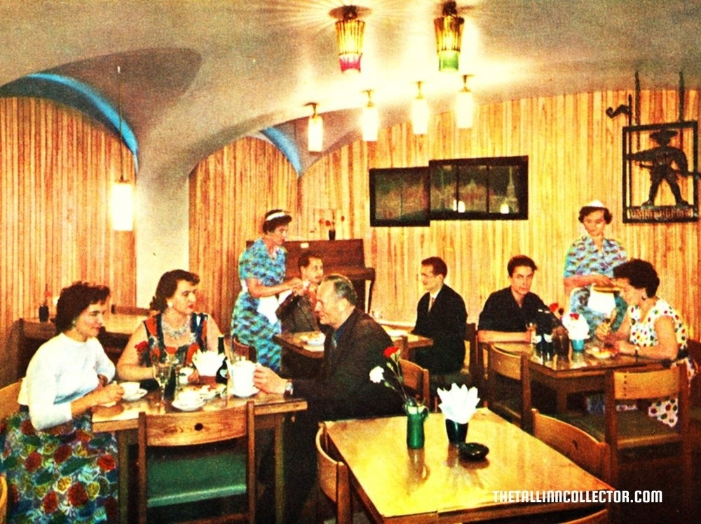 Vana Toomas cafe 1960s