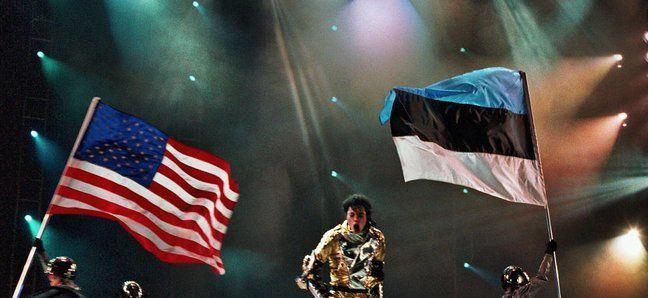 Michael Jackson in Estonia