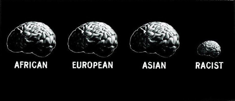 anti-racist poster