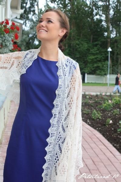 Haapsalu shawl 11, Photo by Alex Kullarand