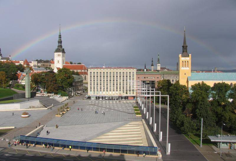 Freedom Square Tallinn
