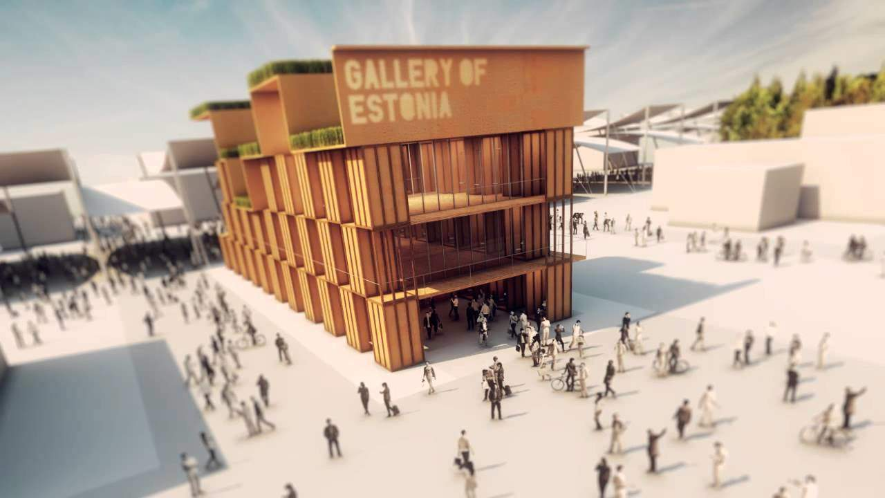 Best Stands Expo Milano : Estonian pavilion wins the third prize at expo milan