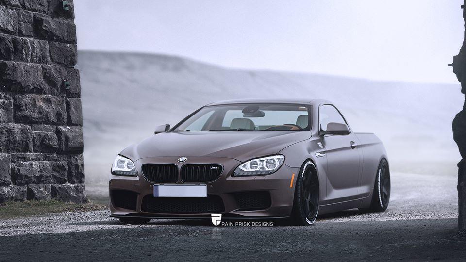BMW M6 pick-up