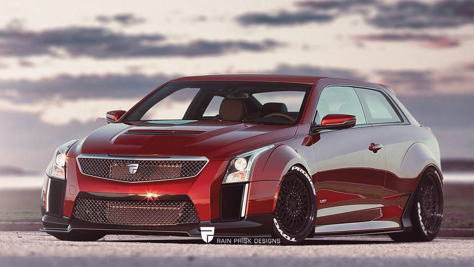 Cadillac ATS-V fat hatchback