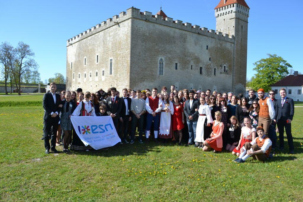Estonian student wedding