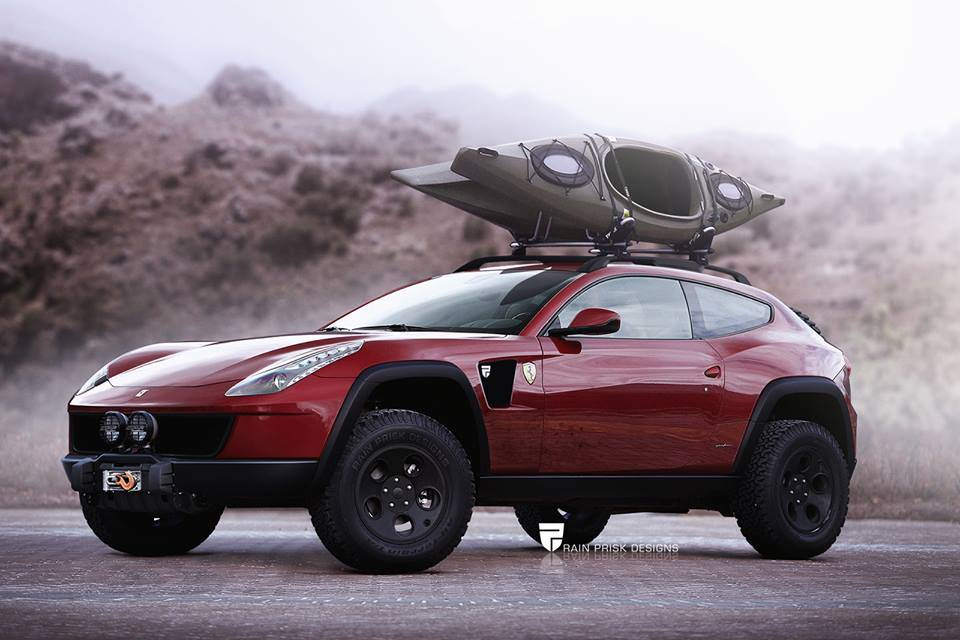 Offroad version of the Ferrari FF