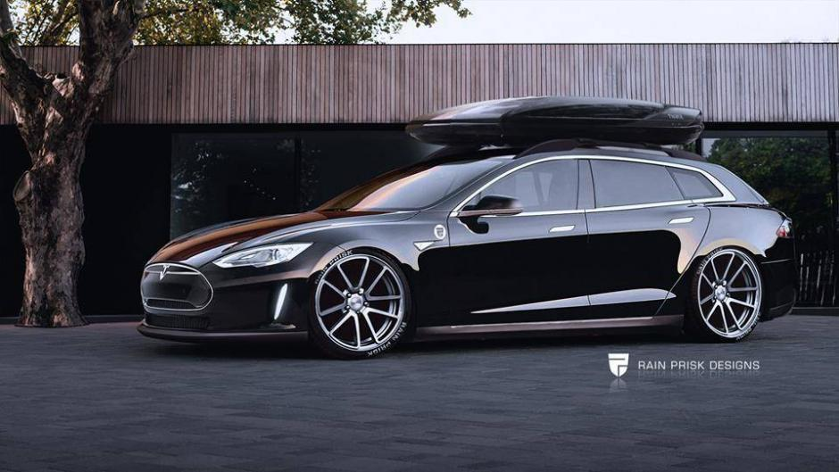 Pictures Estonian Designer Suggests Estate Version For Tesla Estonian World