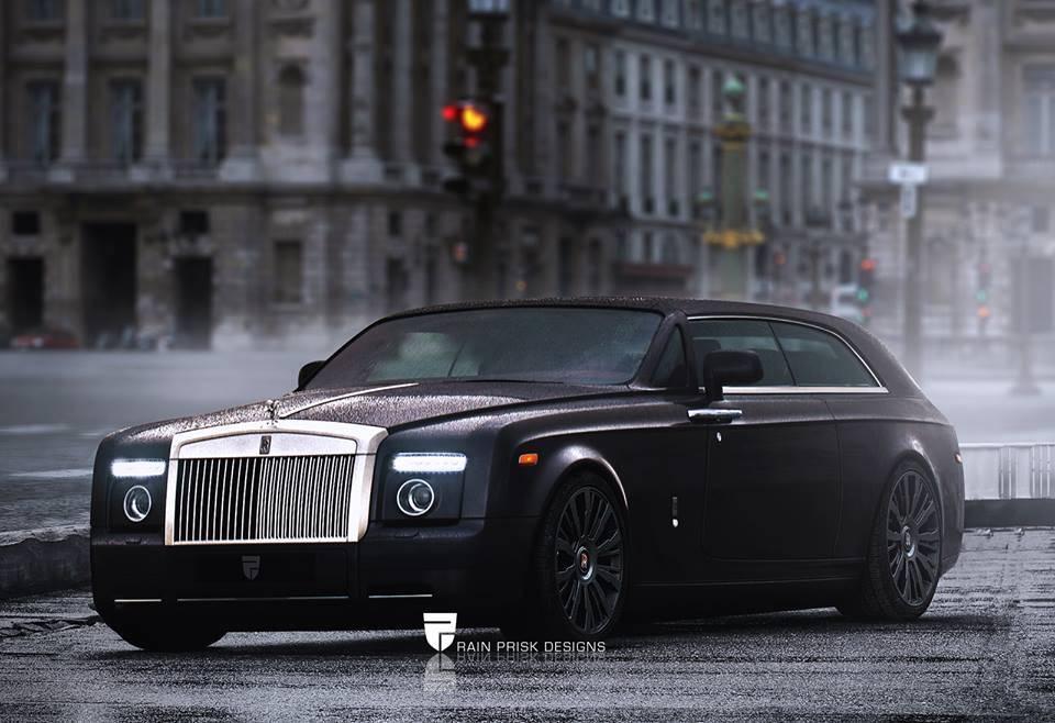 a Rolls Royce hatchback