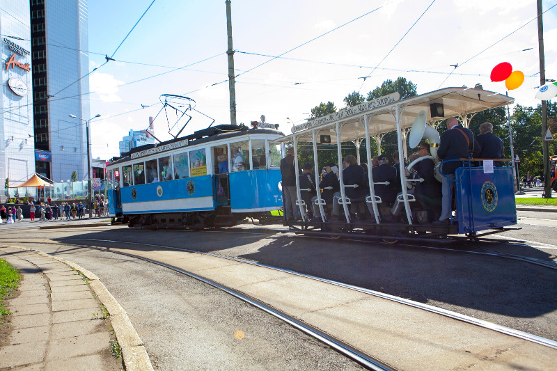 Special tram (originating from 1953) Photo by Terje Lepp