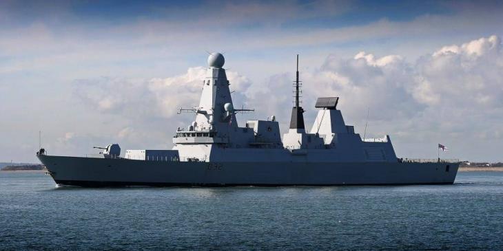 HMS Daring I