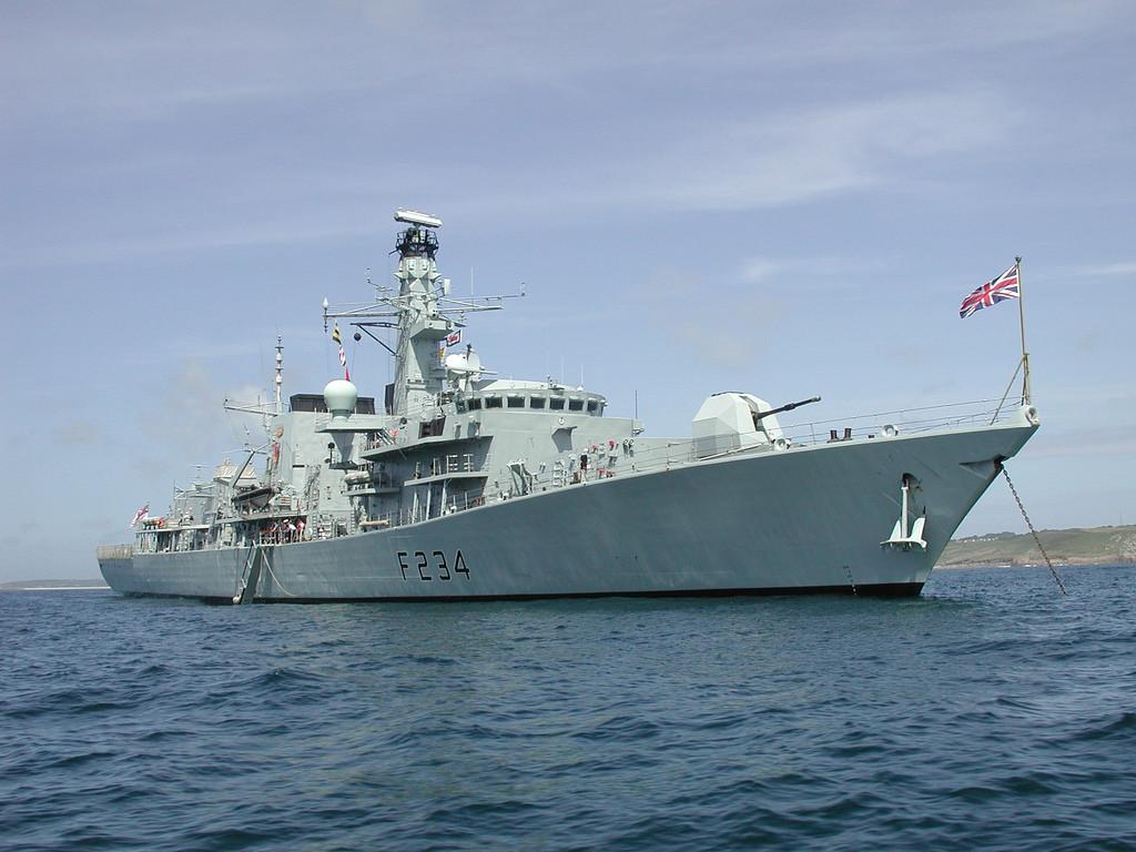 Type 23 Frigate HMS Iron Duke - photo by Jeremy Pearson