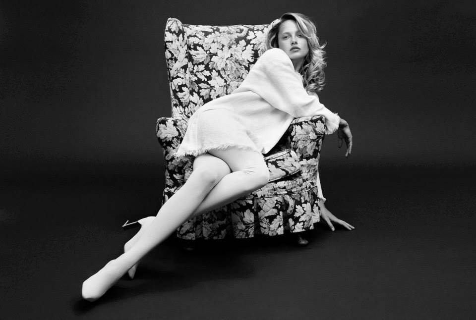 Karmen Pedaru by Horst Diekgerdes Muse Magazine #40 Spring 2015 Stylist - Beth Fenton II