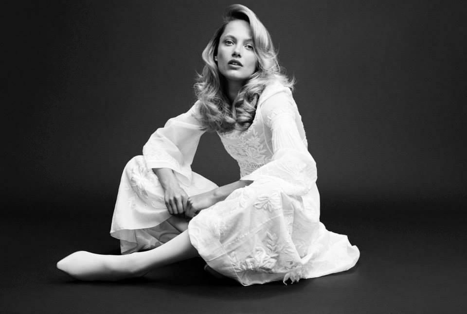 Karmen Pedaru by Horst Diekgerdes Muse Magazine #40 Spring 2015 Stylist - Beth Fenton III