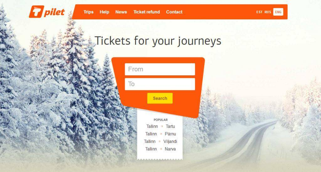 Tickets for your journeys