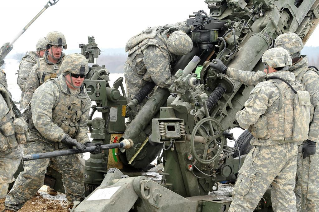 US Army Europe's 2nd Cavalry Regiment in training in Germany. Credit: US Army Europe.