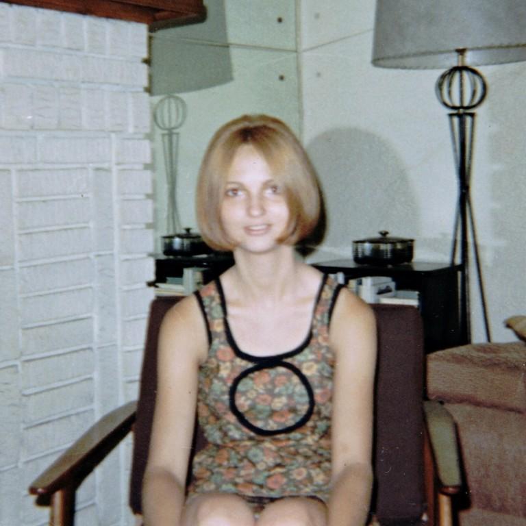Reet Jurvetson in her late teens