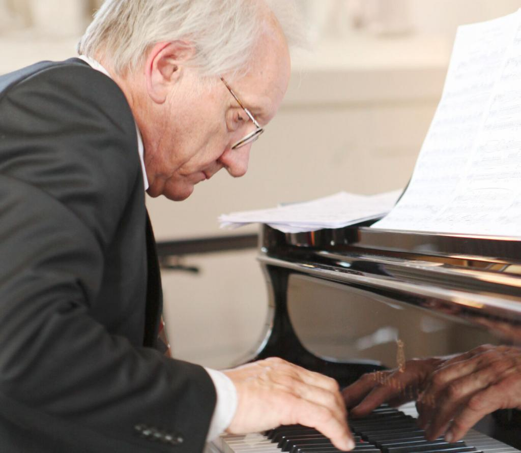 Toomas Tuulse started to learn the piano when he was eight years old. Photo: Kristiina Gilts Stenhardt